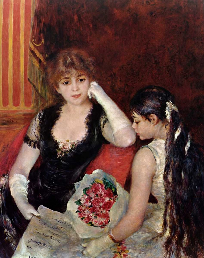 konfigurieren des Kunstdrucks in Wunschgröße At The Concert von Renoir, Pierre-Auguste