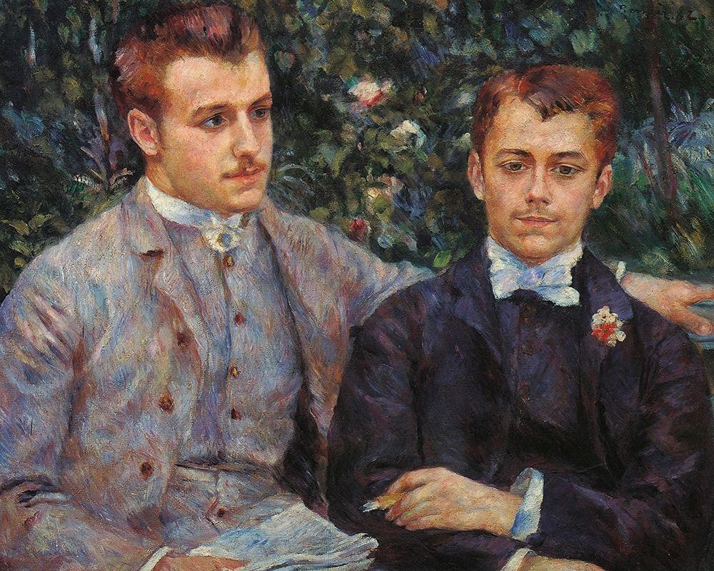 konfigurieren des Kunstdrucks in Wunschgröße Charles and George Durand von Renoir, Pierre-Auguste