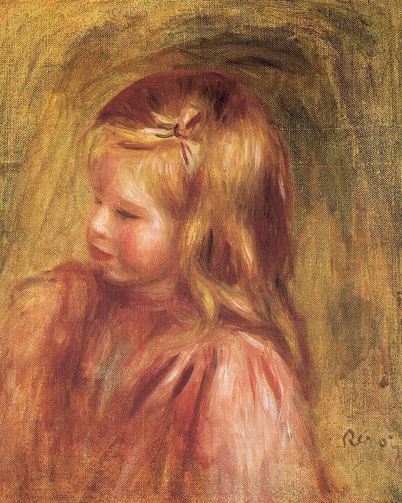 konfigurieren des Kunstdrucks in Wunschgröße Coco von Renoir, Pierre-Auguste