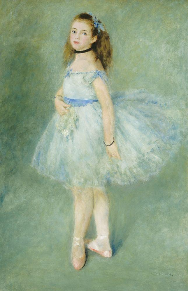 konfigurieren des Kunstdrucks in Wunschgröße The Dancer, 1874 von Renoir, Pierre-Auguste