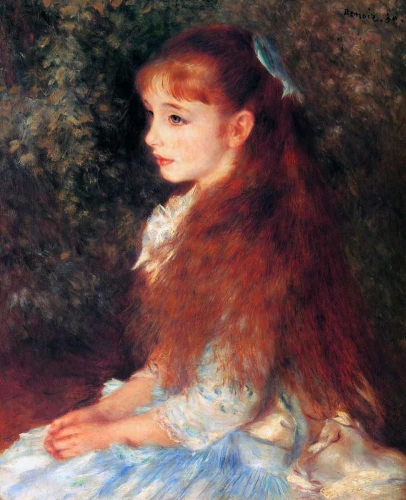 konfigurieren des Kunstdrucks in Wunschgröße Irene Cahen DAnvers von Renoir, Pierre-Auguste