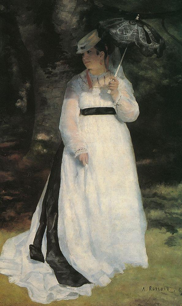konfigurieren des Kunstdrucks in Wunschgröße Lise With Parasol von Renoir, Pierre-Auguste