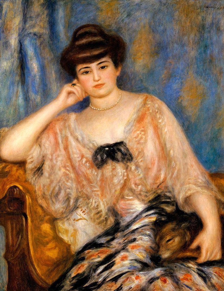 konfigurieren des Kunstdrucks in Wunschgröße Misia Sert von Renoir, Pierre-Auguste