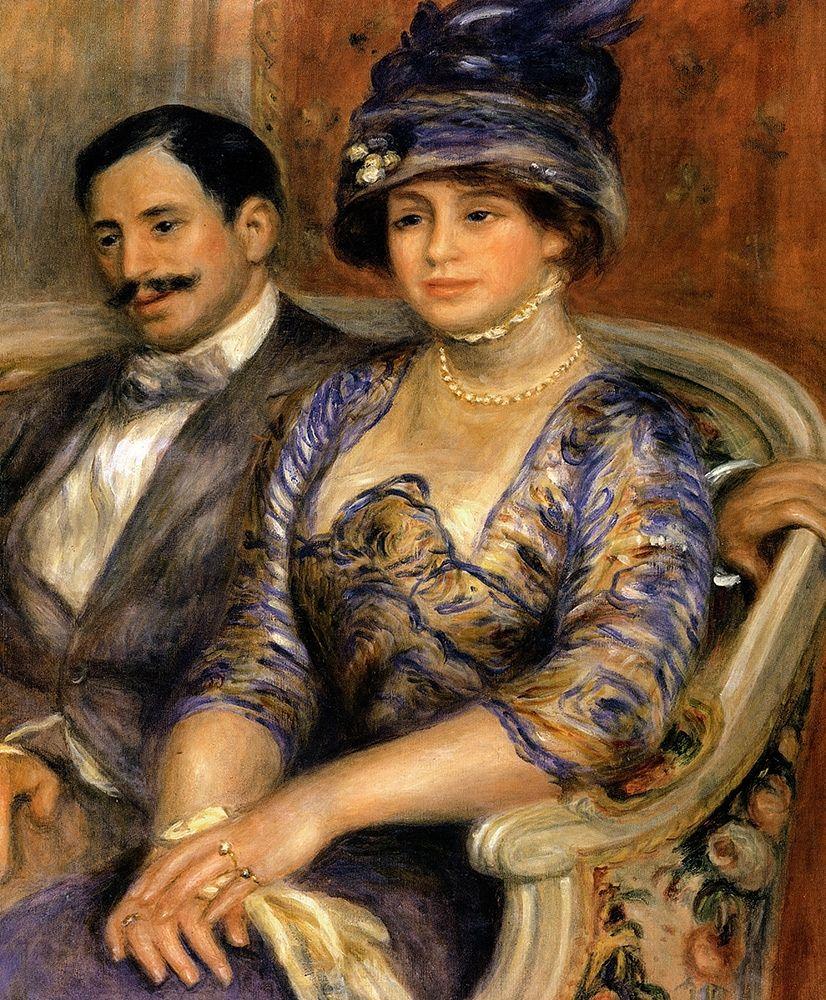 konfigurieren des Kunstdrucks in Wunschgröße Monsieur And Madame Bernheim Devillers von Renoir, Pierre-Auguste