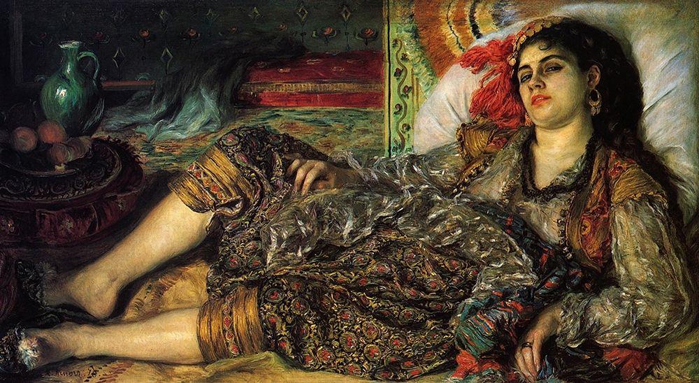 konfigurieren des Kunstdrucks in Wunschgröße Odalisque von Renoir, Pierre-Auguste