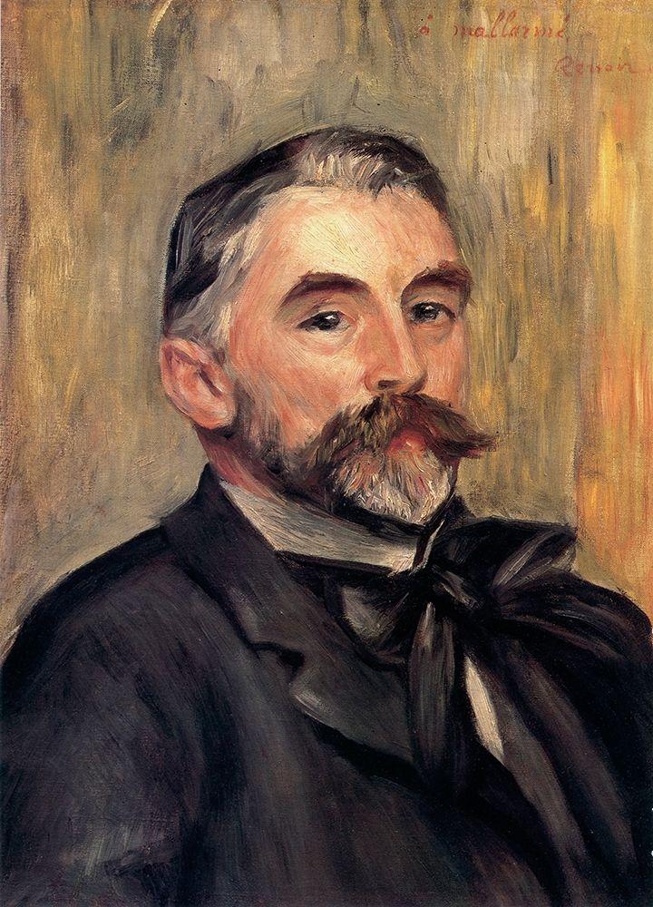 konfigurieren des Kunstdrucks in Wunschgröße St├®phane Mallarm├® von Renoir, Pierre-Auguste