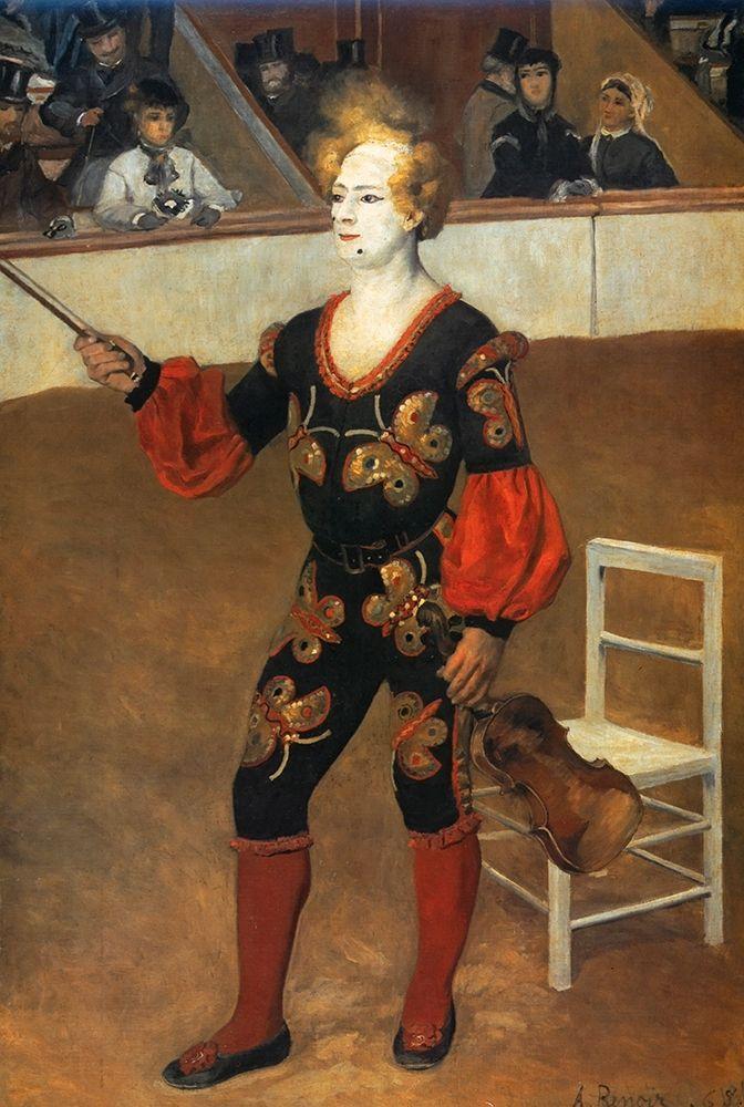 konfigurieren des Kunstdrucks in Wunschgröße The Clown 2 von Renoir, Pierre-Auguste
