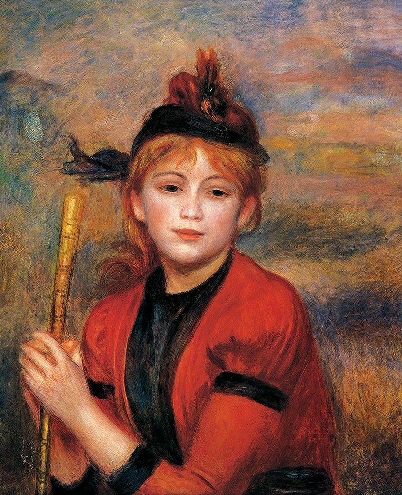 konfigurieren des Kunstdrucks in Wunschgröße The Rambler von Renoir, Pierre-Auguste