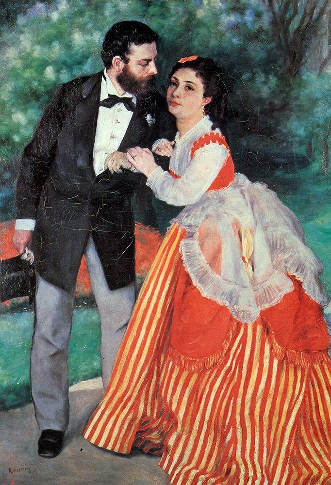 konfigurieren des Kunstdrucks in Wunschgröße The Sisleys von Renoir, Pierre-Auguste