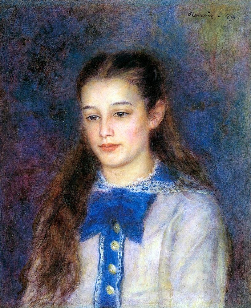 konfigurieren des Kunstdrucks in Wunschgröße Therese Berard von Renoir, Pierre-Auguste
