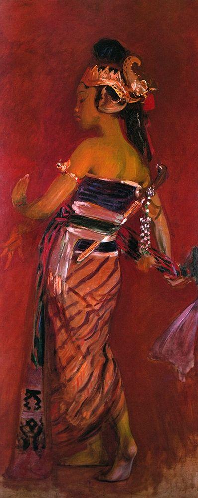 konfigurieren des Kunstdrucks in Wunschgröße A Javanese Dancer 1889 von Sargent, John Singer