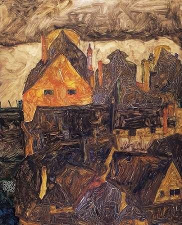 The Old City I von Schiele, Egon <br> max. 64 x 81cm <br> Preis: ab 10€