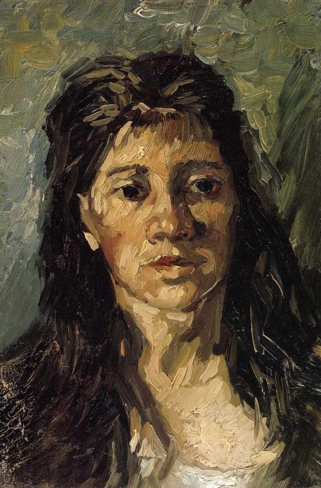 konfigurieren des Kunstdrucks in Wunschgröße Head Of A Woman von Van Gogh, Vincent