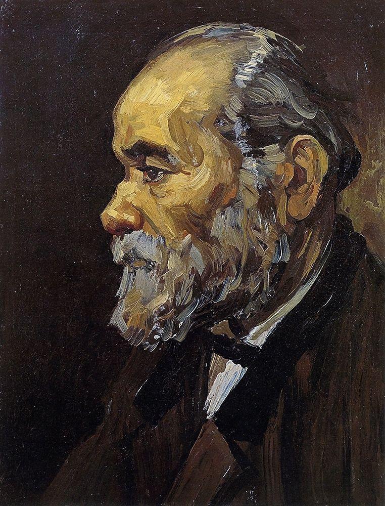 konfigurieren des Kunstdrucks in Wunschgröße Head Of An Old Man von Van Gogh, Vincent