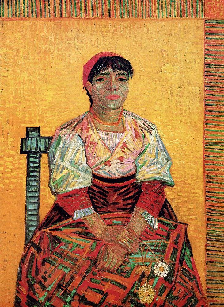 konfigurieren des Kunstdrucks in Wunschgröße Italian Woman von Van Gogh, Vincent