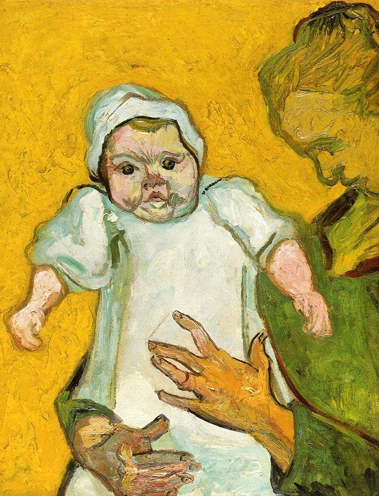 konfigurieren des Kunstdrucks in Wunschgröße Madame Roulin And Baby von Van Gogh, Vincent