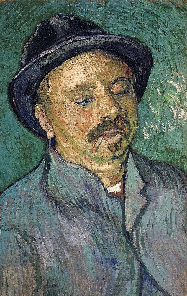 konfigurieren des Kunstdrucks in Wunschgröße One Eyed Man von Van Gogh, Vincent