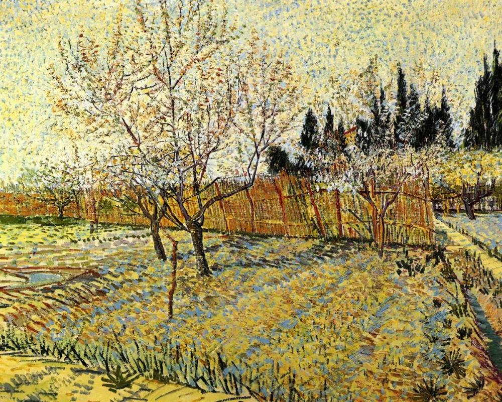 konfigurieren des Kunstdrucks in Wunschgröße Orchard Springtime von Van Gogh, Vincent