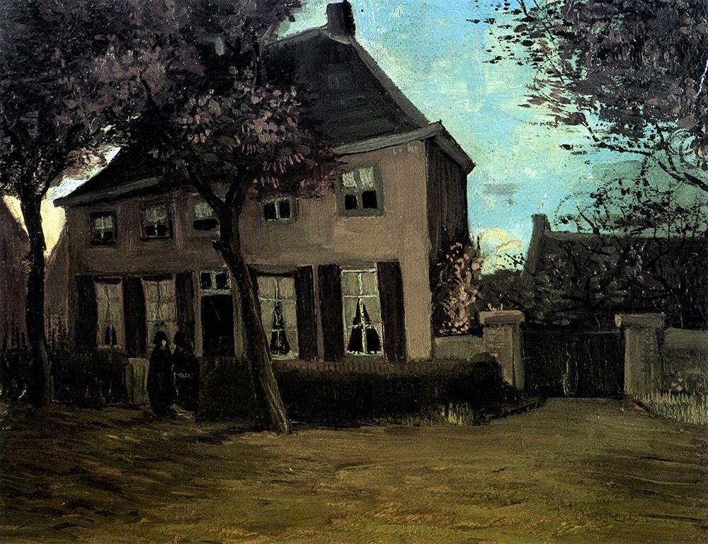 konfigurieren des Kunstdrucks in Wunschgröße Parsonage At Nuenen von Van Gogh, Vincent