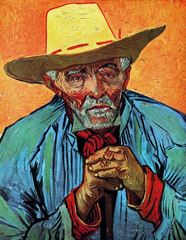 konfigurieren des Kunstdrucks in Wunschgröße Patience Escalier von Van Gogh, Vincent