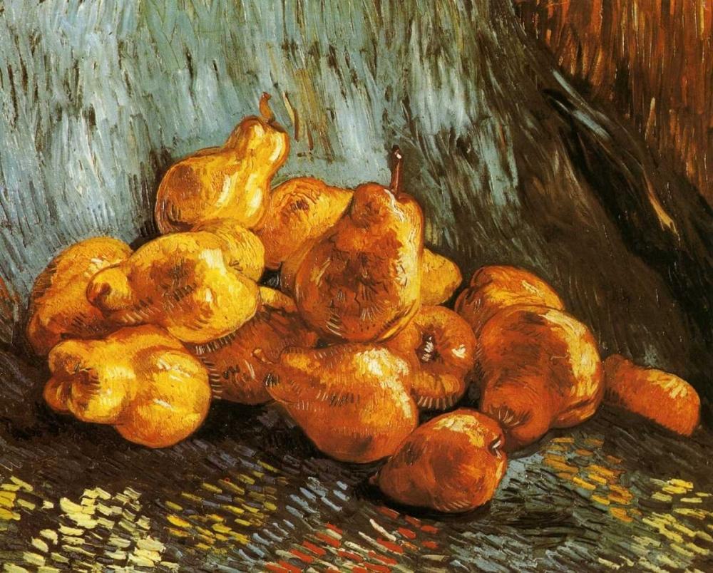 konfigurieren des Kunstdrucks in Wunschgröße Pears von Van Gogh, Vincent