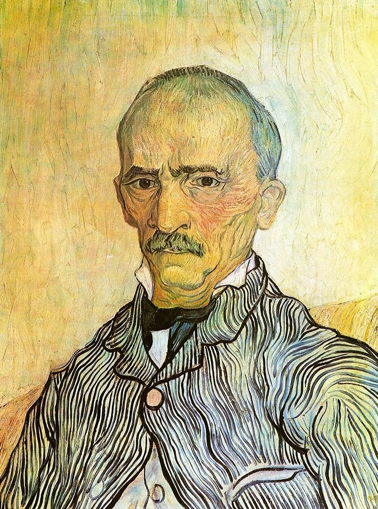 konfigurieren des Kunstdrucks in Wunschgröße Portrait von Van Gogh, Vincent