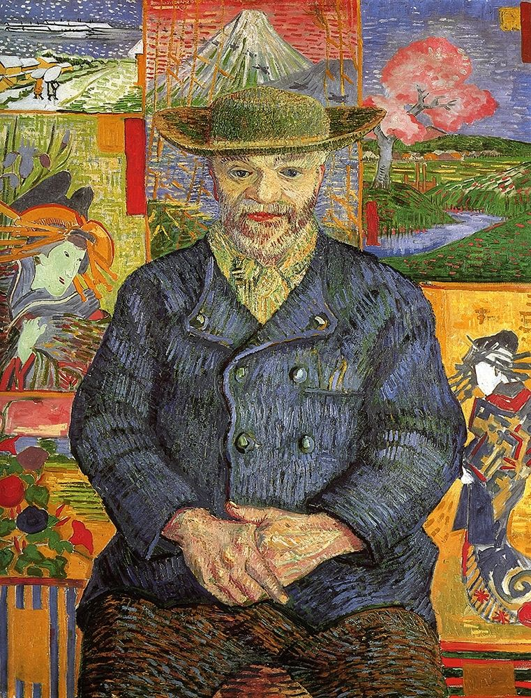 konfigurieren des Kunstdrucks in Wunschgröße Portrait Pere Tanguy von Van Gogh, Vincent