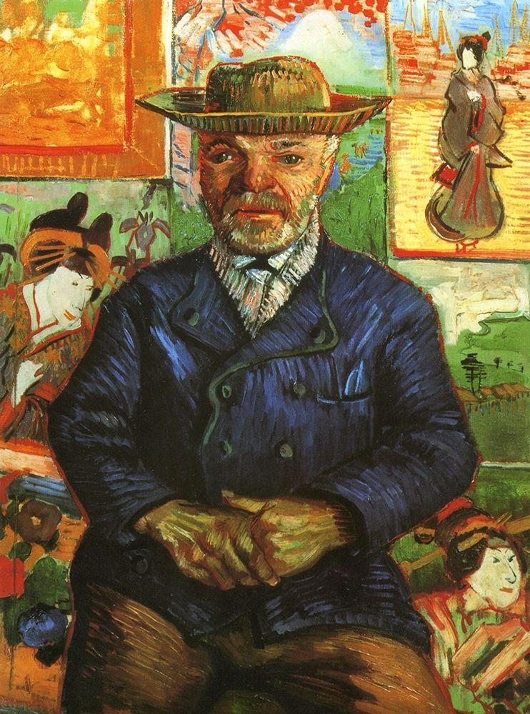 konfigurieren des Kunstdrucks in Wunschgröße Portrait Pere Tanguy 2 von Van Gogh, Vincent