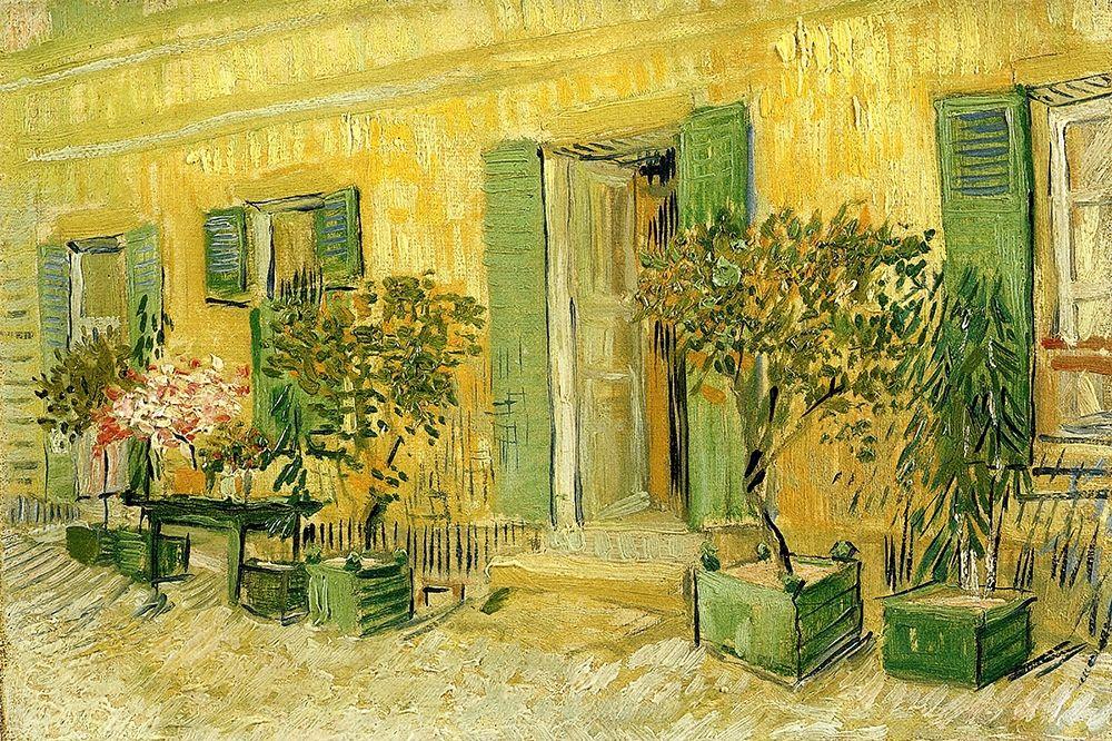 konfigurieren des Kunstdrucks in Wunschgröße Restaurant At Asnieres von Van Gogh, Vincent