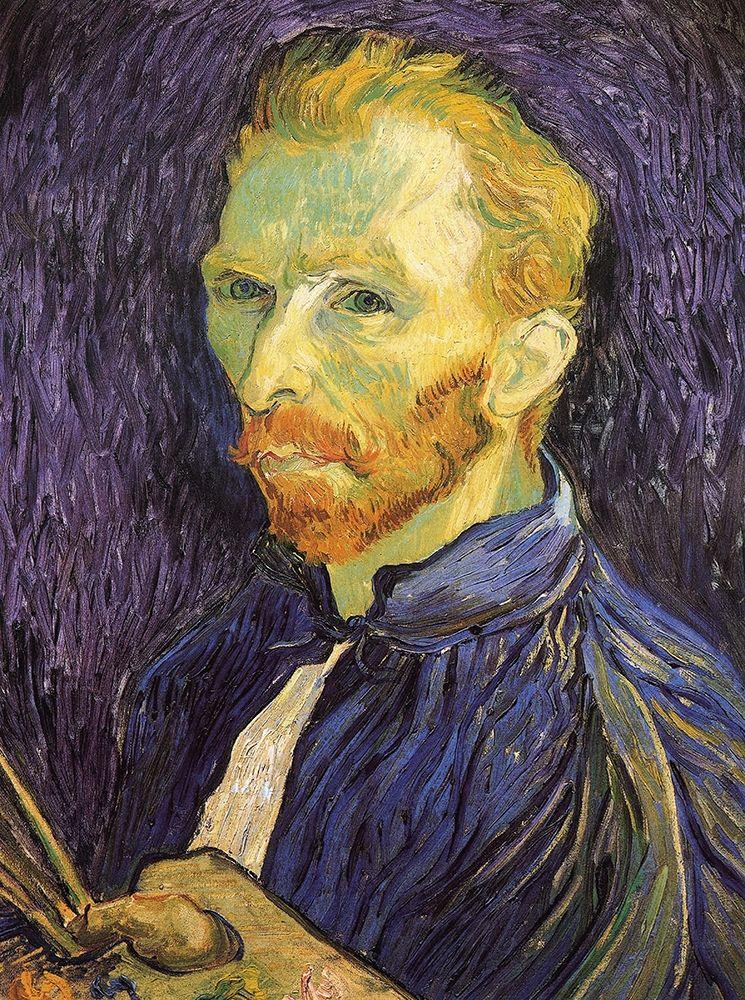 konfigurieren des Kunstdrucks in Wunschgröße Self Portrait 1889 von Van Gogh, Vincent