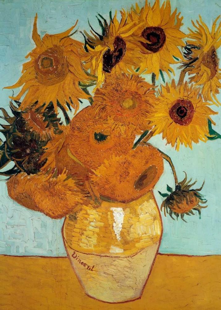 konfigurieren des Kunstdrucks in Wunschgröße Sunflowers 1888 - 3 von Van Gogh, Vincent