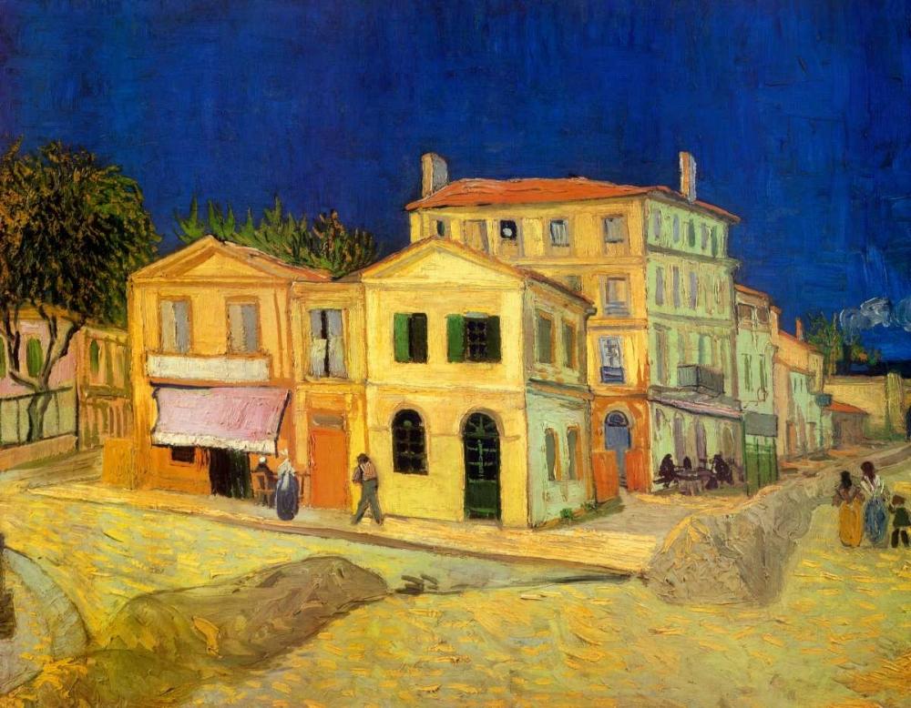 konfigurieren des Kunstdrucks in Wunschgröße The Yellow House, 1888 von Van Gogh, Vincent