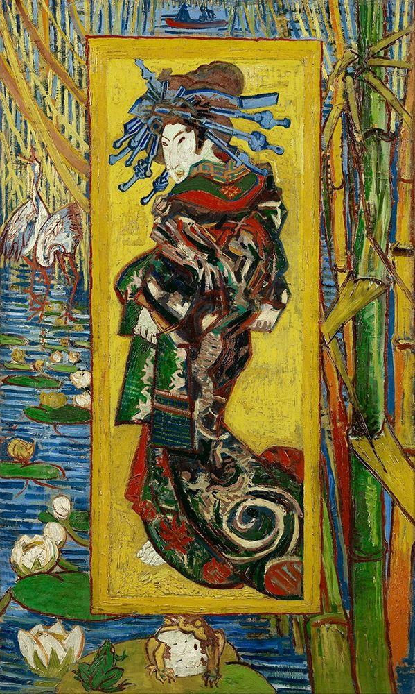 konfigurieren des Kunstdrucks in Wunschgröße The Courtesan (After Eisen) von Van Gogh, Vincent
