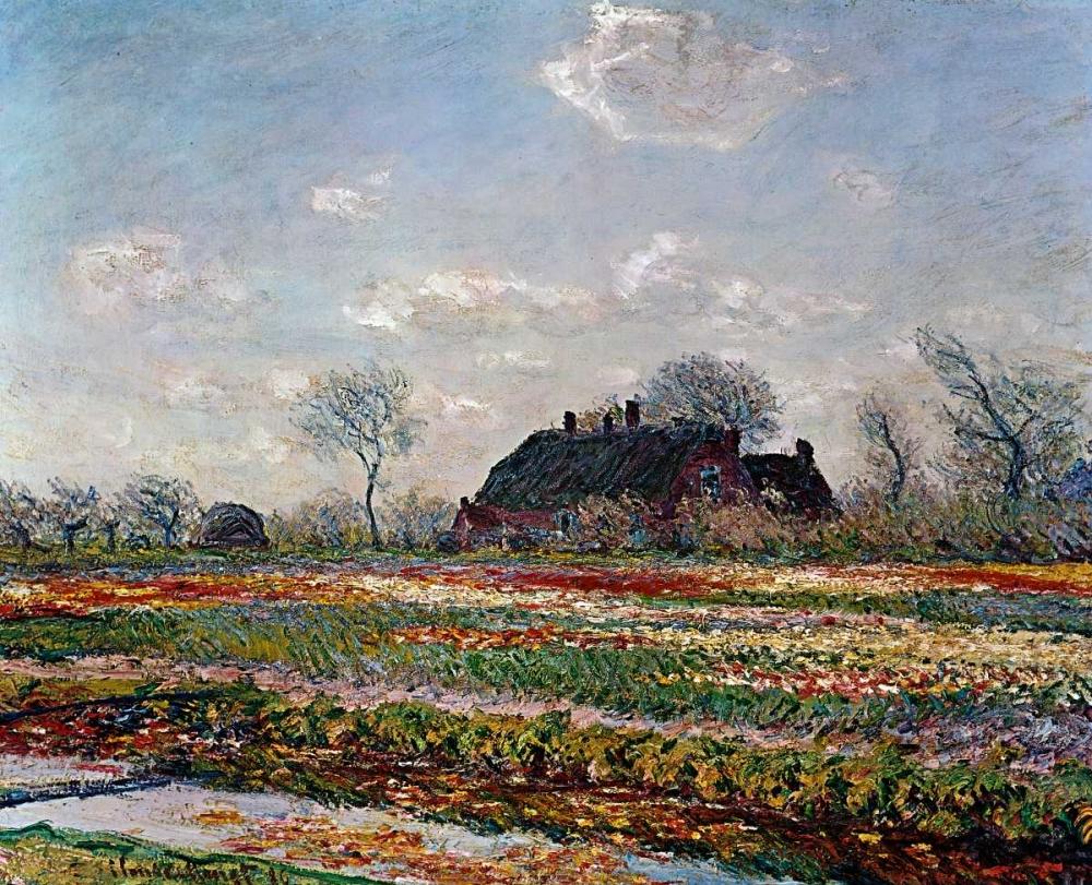 konfigurieren des Kunstdrucks in Wunschgröße Tulip Field Sassenheim von Van Gogh, Vincent