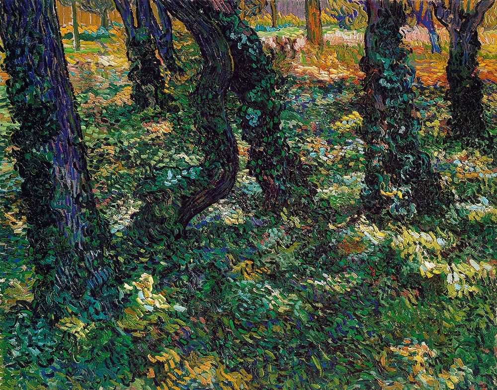 konfigurieren des Kunstdrucks in Wunschgröße Undergrowth 2 von Van Gogh, Vincent