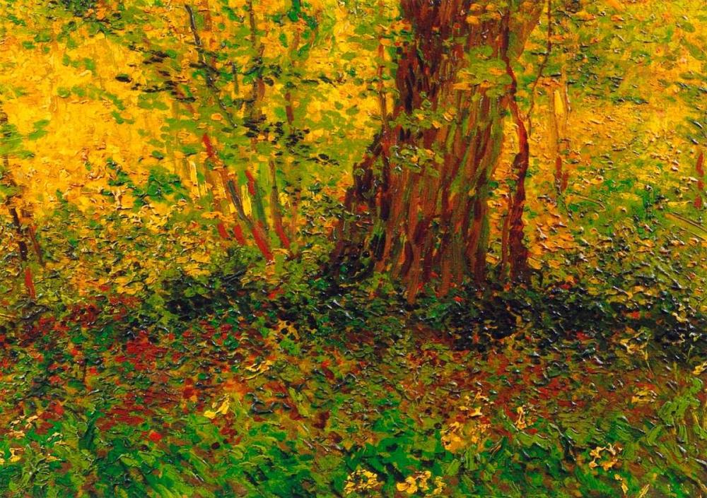 konfigurieren des Kunstdrucks in Wunschgröße Undergrowth 3 von Van Gogh, Vincent