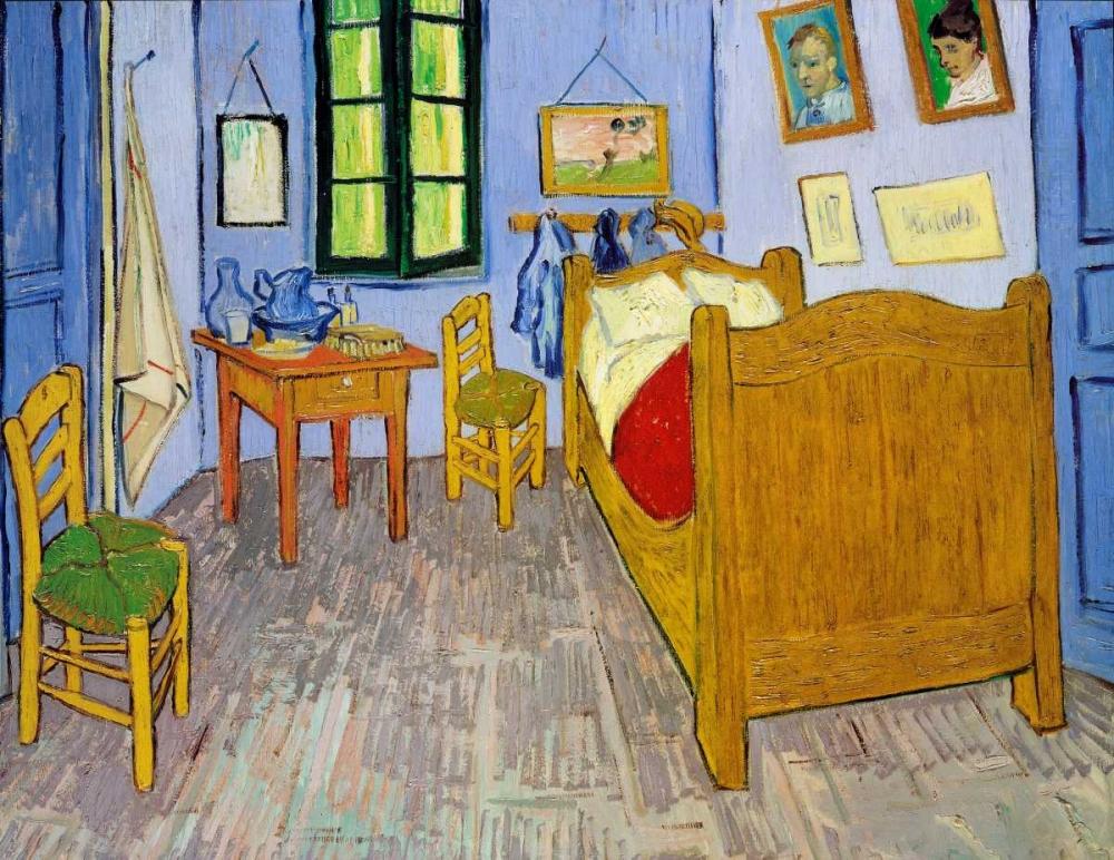 konfigurieren des Kunstdrucks in Wunschgröße Van Goghs Bedroom Arles, 1889 von Van Gogh, Vincent
