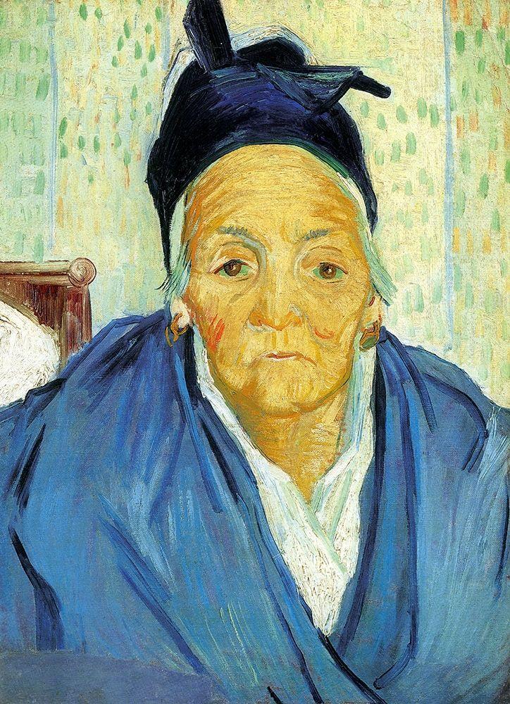konfigurieren des Kunstdrucks in Wunschgröße An Old Woman From Arles von Van Gogh, Vincent