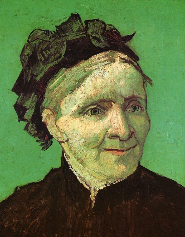 konfigurieren des Kunstdrucks in Wunschgröße Artists Mother von Van Gogh, Vincent