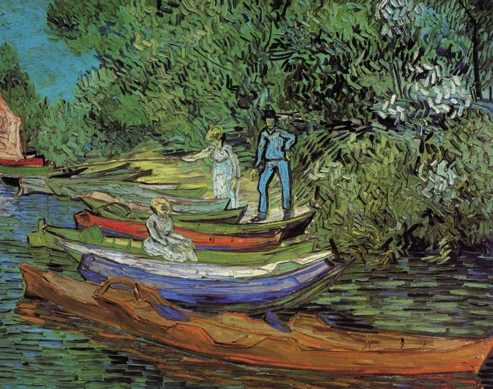 konfigurieren des Kunstdrucks in Wunschgröße Bank Of Oise At Auvers von Van Gogh, Vincent