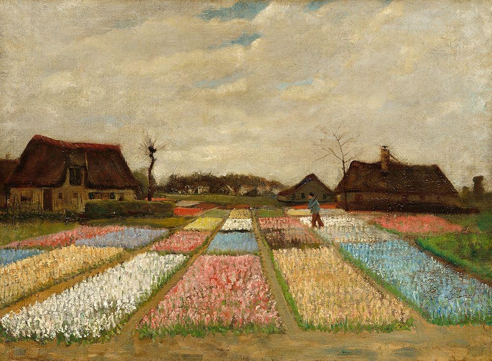 konfigurieren des Kunstdrucks in Wunschgröße Bulb Fields von Van Gogh, Vincent