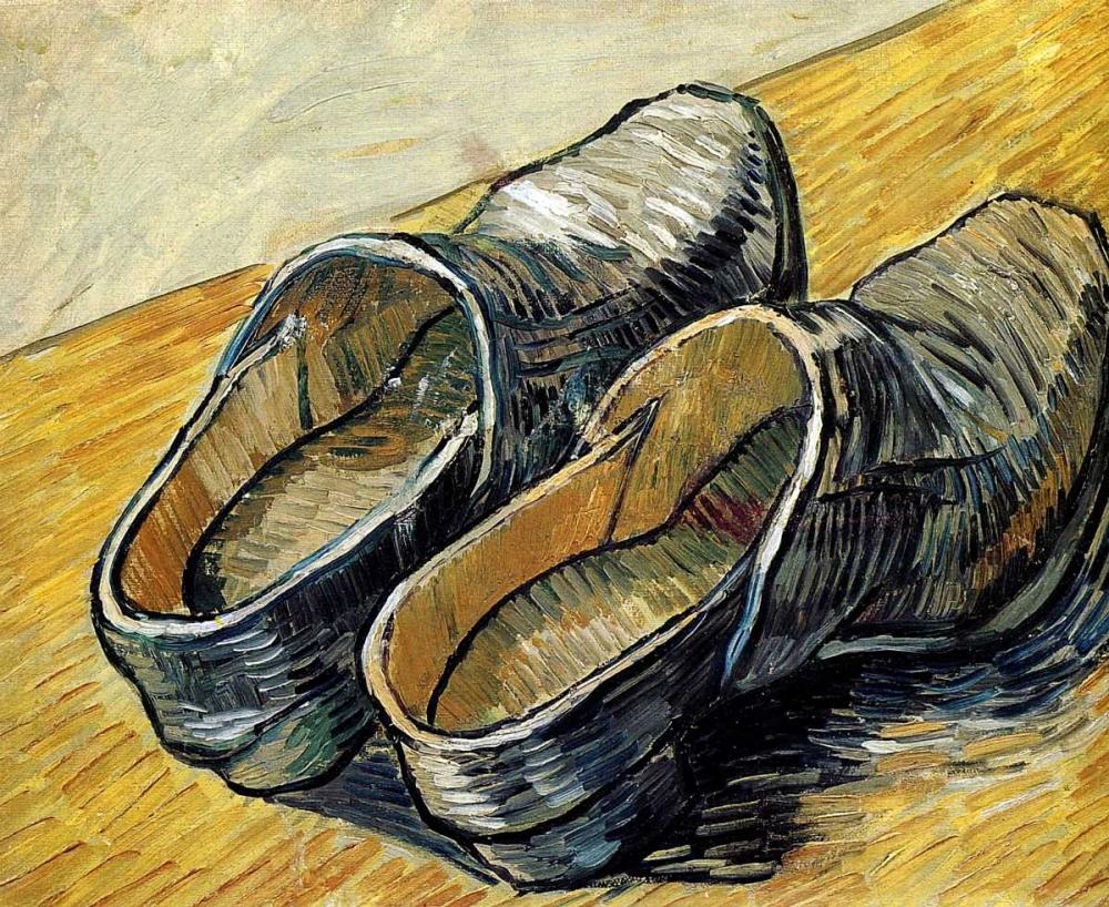 konfigurieren des Kunstdrucks in Wunschgröße Clogs von Van Gogh, Vincent