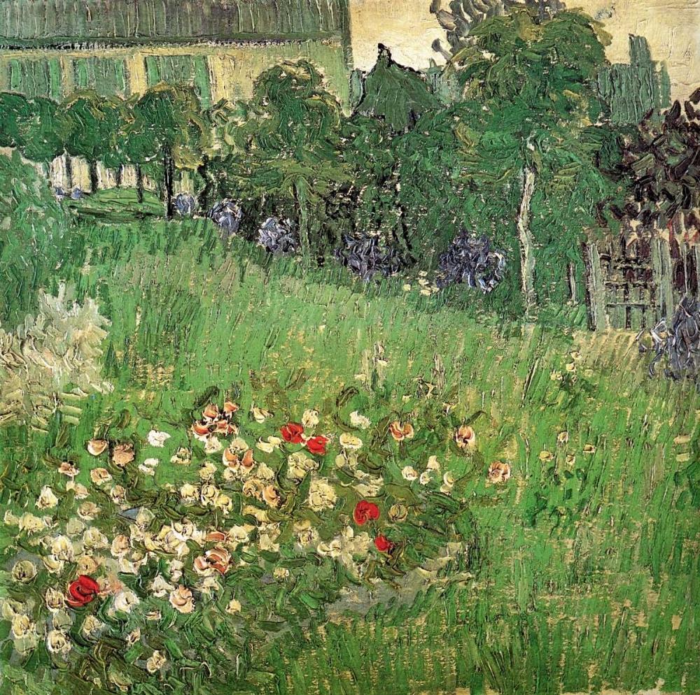 konfigurieren des Kunstdrucks in Wunschgröße Daubignys Garden von Van Gogh, Vincent