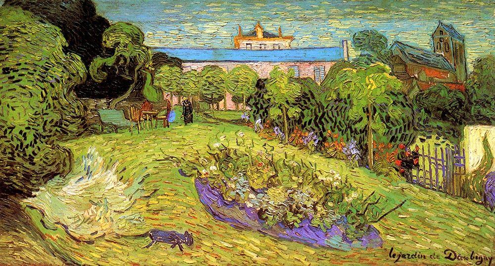 konfigurieren des Kunstdrucks in Wunschgröße Daubignys Garden 2 von Van Gogh, Vincent