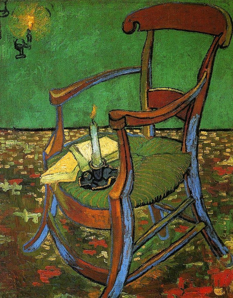 konfigurieren des Kunstdrucks in Wunschgröße Gauguins Armchair von Van Gogh, Vincent