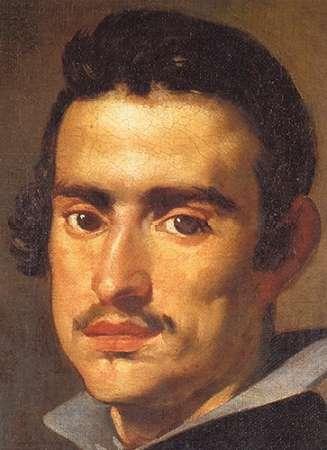 konfigurieren des Kunstdrucks in Wunschgröße A Young Man von Velazquez, Diego