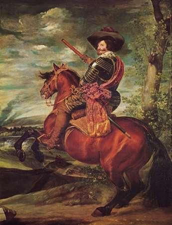 konfigurieren des Kunstdrucks in Wunschgröße Equestrian Portrait Of The Count Duke Of Olivares von Velazquez, Diego