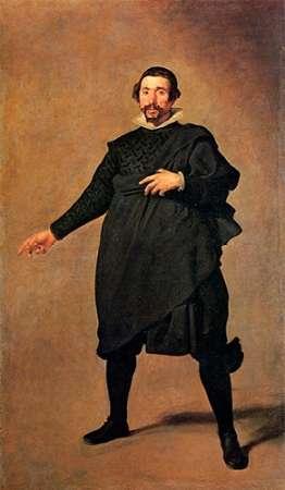 konfigurieren des Kunstdrucks in Wunschgröße The Buffoon Pablo De Valladolid von Velazquez, Diego