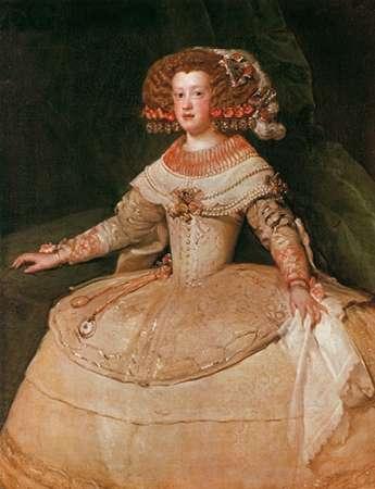 konfigurieren des Kunstdrucks in Wunschgröße The Infanta Maria Teresa von Velazquez, Diego