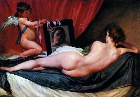 konfigurieren des Kunstdrucks in Wunschgröße The Toilet Of Venus von Velazquez, Diego